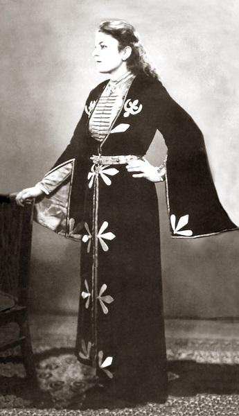 Maisie Yagan in Traditional Circassian Dance Costume